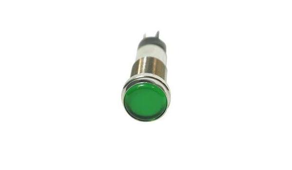 656-3205-304F/-/LED Panel Mount Indicator Green NEMA 4X 12.7 mm 5 mA High Intensity 120 V IP66