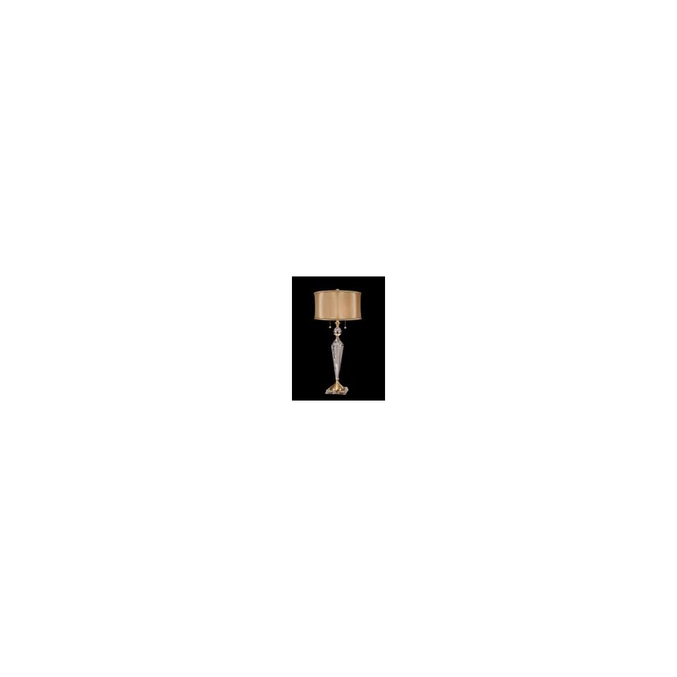 Dale Tiffany GT701218 Strada 2 Light Table Lamp in Antique