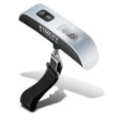 Etekcity Digital Hanging Postal Luggage Scale, Rubber Paint Technology, Temperature Sensor, 110lb/50kg, Silver/Black, 1Pack