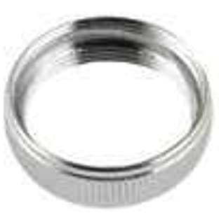 Chrome Finish Male 15//16-27 Top Threads Male 55//64-27 Bottom Threads Solid Brass Neoperl 15 3360 5 Faucet Adapter