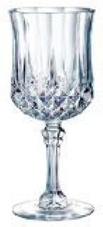 Cristal D'Arques Longchamp 8-1/4-Ounce Goblet, Set of 4 (B0006LP9QS)   Amazon price tracker / tracking, Amazon price history charts, Amazon price watches, Amazon price drop alerts