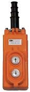 product image for Kh Industries 2-Button Up/Down Pendant Push Button Station, 1NO, NEMA Rating 4X, Orange - CPA02-A4C-000A