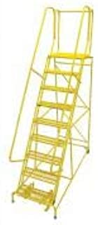 product image for Cotterman 1009R2632A1E20B4C2P6 - Rolling Ladder Steel 120In. H. Yellow