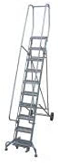product image for Cotterman 6511R1830A1E10B4BC1P6 - Rolling Ladder Steel 140In. H. Gray