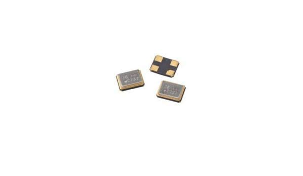 405C35E12M0000 Crystal 12MHz /±30ppm /±50ppm 100 Items 20pF Fund 60Ohm 4-Pin SMD T//R Tol Stability