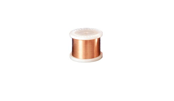 AWG 34 Triple Insulation Poly Nylon MSS Magnet Wire TPN Color: Gold AWG 34 Copper Wire High Voltage