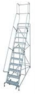 product image for Cotterman 1512R2632A1E20B4AC1P3 - Rolling Ladder Steel 162In. H. Gray