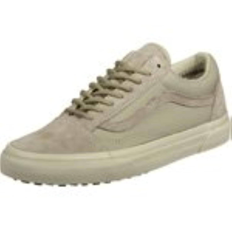 Vans Unisex Adults' Old Skool Low-Top Sneakers, Black (Mte Black/Tweed), 2.5 UK