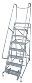 product image for Cotterman 1008R2632A6E10B4D3C1P6 - Rolling Ladder Steel 110In. H. Gray