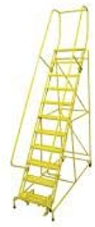 product image for Cotterman 1511R2632A1E10B4W4C2P6 - Rolling Ladder Steel 140In. H. Yellow