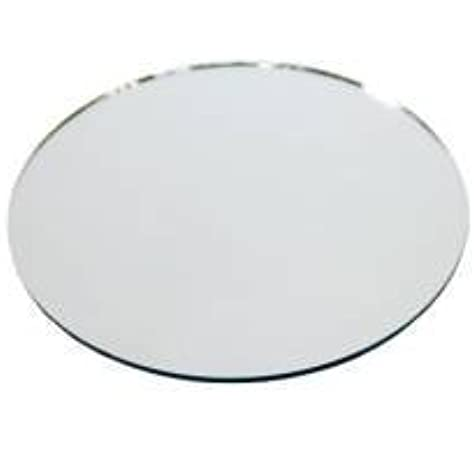 DS12+ Mirror Acrylic Centrepiece Circle Plate for Wedding Table Garden 3 Sizes