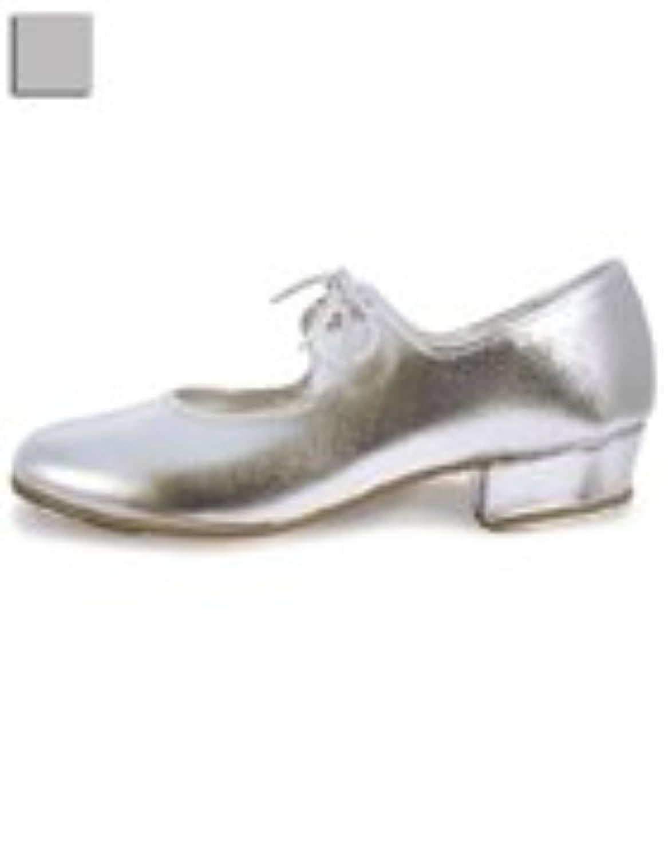 Roch Valley 'LHPS' Silver Tap Shoes Silver 3 UK / 36 EU