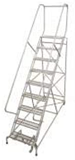 product image for Cotterman 1715R3242A1E12B4W4C1P3 - Rolling Ladder Steel 192In. H. Gray