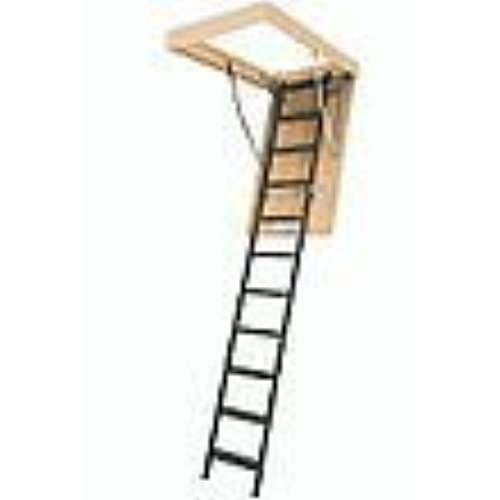 fakro lms insulated steel attic ladder for 30inch x 54inch rough openings
