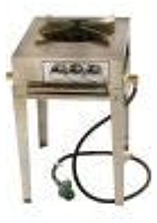 product image for Lazyman 3 Ring Single Burner Stainless Steel Utility Stove - Natural Gas