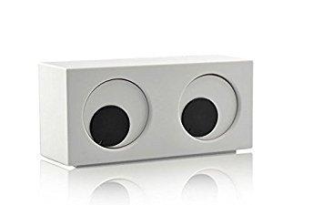 Hommie Creative Rotating Eyes Desktop Alarm ()