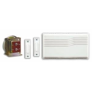 Heath Zenith Wired Door Chime Kit with Mixed Push Buttons DW-102 (Wire Bell Strand)