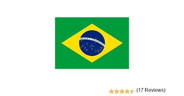 Brasil bandera de Brasil, 150 x 90 cm, tejido 100% poliéster ...