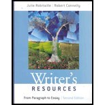 Writer's Resources : From Paragraph to Essay - With CD