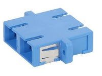 Fiber Optic Coupler / Sc/Sc Sm Duplex -2 Pack