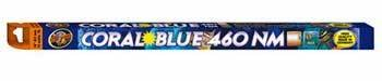 Zoo Med 17W Coral Blue 460nm T8 Lamp, - Light Zoo Blue Coral