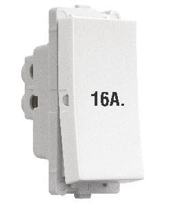 Vinay Electricals Corum Arc 16A.1Way Switch (White) -3 Pieces Switches & Dimmers at amazon