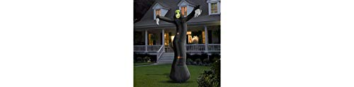 Light-Up Inflatable Phantom Halloween Yard Decoration and Prop, Special Effects, 10 1/2' H, by -