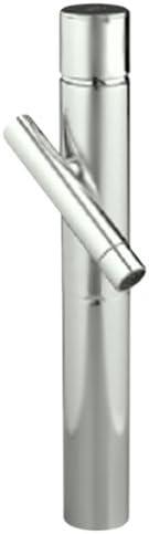 Jado 841701.144 Credo Vessel Faucet, Brushed Nickel