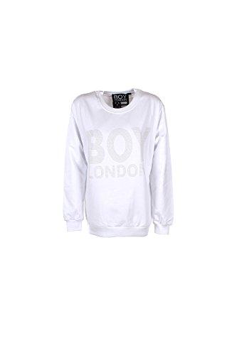 Felpa Donna Boy London L Bianco Bl670 Primavera Estate 2017