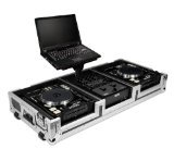 (Road Ready RRDJCD10WL Coffin with Laptop Stand for Pioneer CDJ1000)