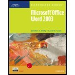 Microsoft Office Word 2003 : Illustrated Complete, Duffy, Jennifer A. and Cram, Carol M., 0619188022