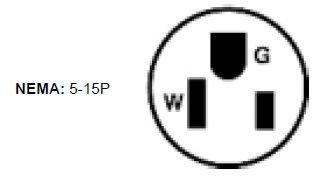 Leviton 515PR Grounding Plug - 20 Pack by ....... (Image #1)