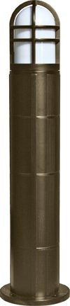 Dabmar Lighting D110-BZ Fiberglass Bollard, Bronze