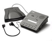 Dictaphone 3750 Transcriber w/Headset, Foot Control, Adpt by Dictaphone