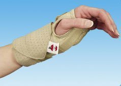 Ambidextrous Cock-Up Wrist Splint with Dual Comfort Pack - Small by Core Products