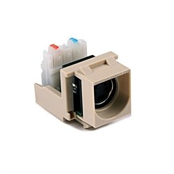 S-Video Quickport Insert - Ivory