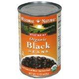 Black Organic Beans 15 oz. (Case of 12) Westbrae Brand