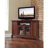 Crosley Furniture Newport 48-Inch Corner TV Stand, Vintage M