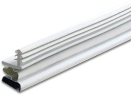 Magnetic Weatherstrip For Steel Doors - White (White Steel Door)