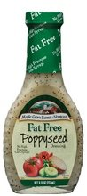 MAPLE GROVE DRSSNG FF POPPYSEED, 8 OZ(Pack of 3)