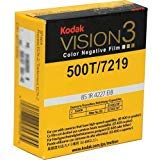 Kodak VISION3 500T/7219 Color Negative Motion Picture Film, 16mm SP457 Winding B, T Core 1R-2994 Perforation, 400