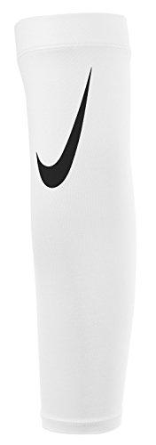 Nike Pro Adult Dri-FIT 3.0 Arm Shiver (White/Black) by NIKE