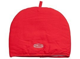 Stellar Thermal Padded Tea Cosy Cozie Cozy in Red STE10R