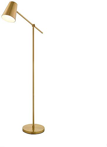 WSJ Luces de pie Lámpara de pie Sala de Estar Simple Sofá Estudio Dormitorio Vertical Lámpara de pie de Lectura Creativa: Amazon.es: Hogar