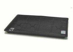 Dreamcrate Professional Mesh Floors - Pet Tek DPK86115 Dream Crate Professional Series 500 Dog Crate Pan Mesh Floor, Black