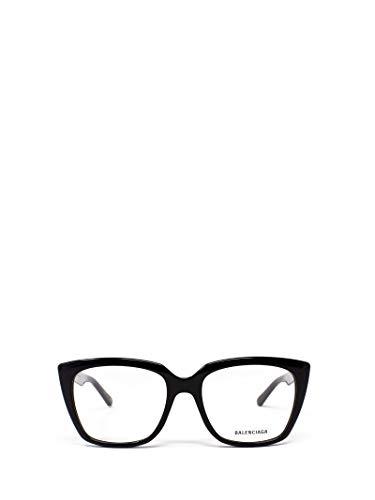 Luxury Fashion   Balenciaga Woman BB0062O001 Black Acetate Glasses   Season Permanent