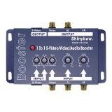 Shinybow Composite RCA S-Video + Stereo Analog Audio Booster Extender Amplifier SB-2810 by ShinybowUSA