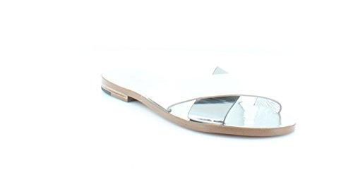 botkier Ally Women's Sandals & Flip Flops Silver Size 6.5 M