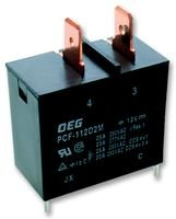TE CONNECTIVITY PCF-112D2M RELAY, MINIATURE, SPST-NO, 12VDC, (Ac Current Sensing Coil)