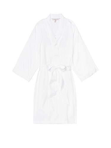 Victoria's Secret White Satin Bridal Robe (Best Bridal Shower Gifts For Bride)